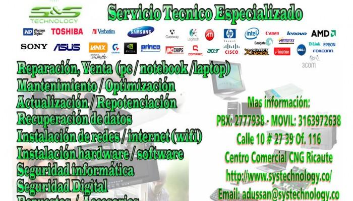 servicios, venta, reparacion, servicios, Instalacion, systechnology.co