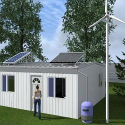 Biohouse la casa ecológica