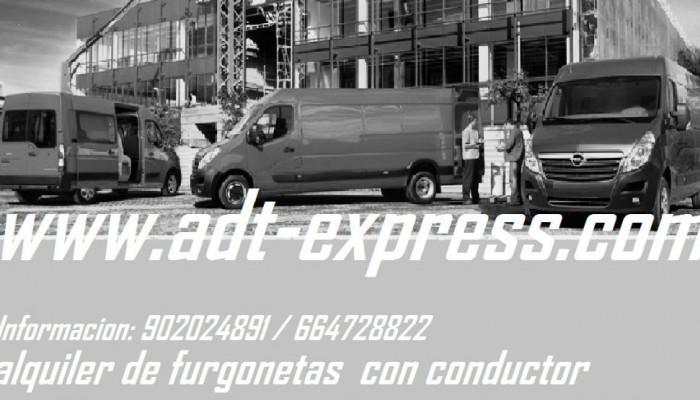 alquiler de furgonetas con conductor
