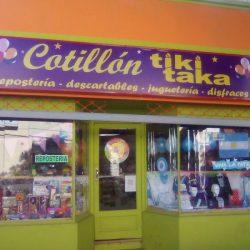 Letrero luminoso para COTILLON TIKI TAKA